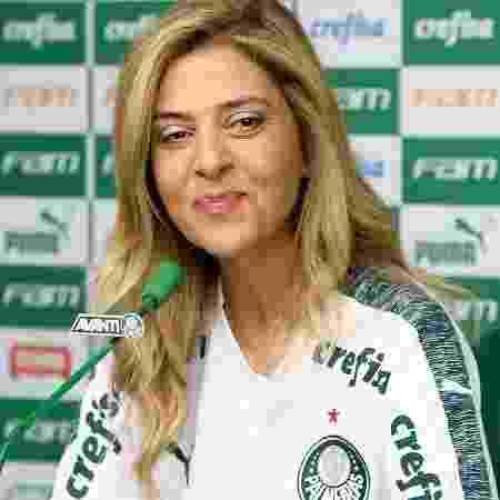 Leila Pereira, patrocinadora e conselheira do Palmeiras - Cesar Greco