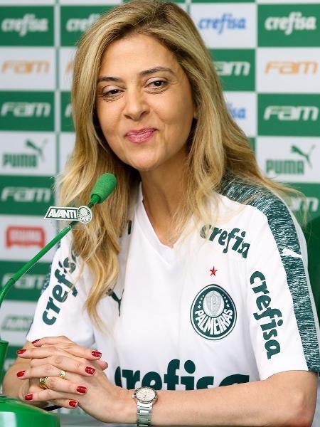 Leila Pereira, conselheira do Palmeiras - Cesar Greco