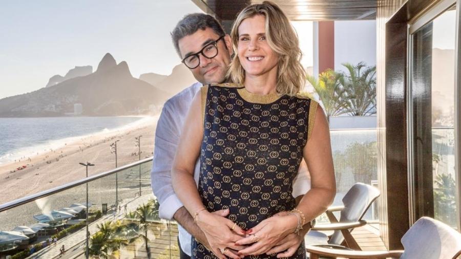 Janaina Xavier e Gustavo Guedes estão à espera da bebê Maria Vitória - Victor Carnevale