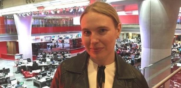 Samantha Mawdsley deu uma resposta inesperada ao desconhecido - BBC