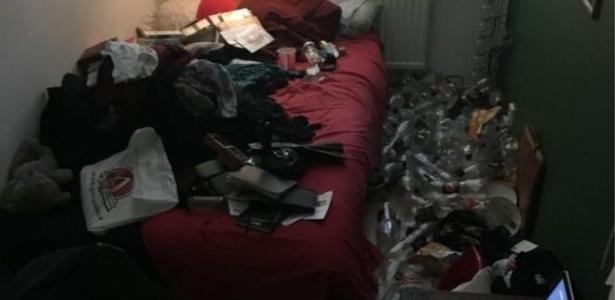 Usuário com depressão publica foto de seu quarto antes e depois de arrumação - Imgur