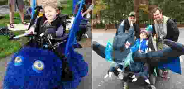 Dragões são uma escolha popular entre as crianças agracidadas pela Magic Wheelchair - Divulgação - Divulgação