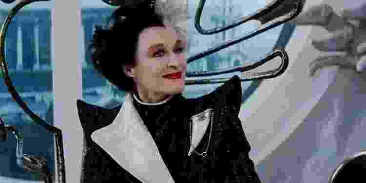 """Glenn Close como Cruella em """"101 Dálmatas"""" (1996) - Reprodução - Reprodução"""