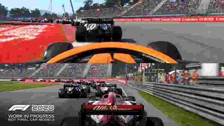 F1 2020 Corrida - Divulgação - Divulgação
