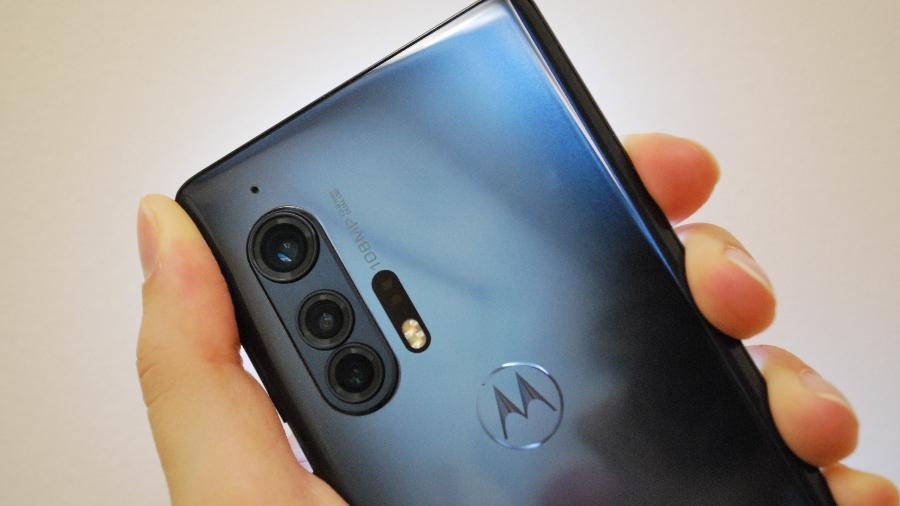 Motorola Edge+, primeiro celular com 5G lançado no Brasil - Rodrigo Trindade/UOL