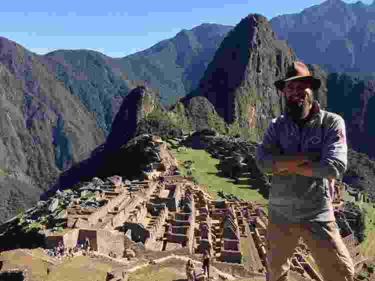 Thor em Machu Picchu, no Peru - Arquivo pessoal - Arquivo pessoal