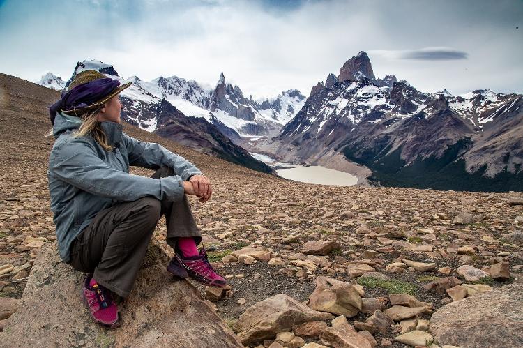 Camila en los paisajes montañosos de Argentina - Archivos personales - Archivos personales