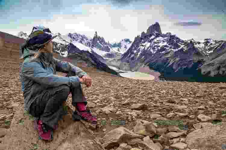 Camila nas paisagens montanhosas da Argentina - Arquivo pessoal - Arquivo pessoal