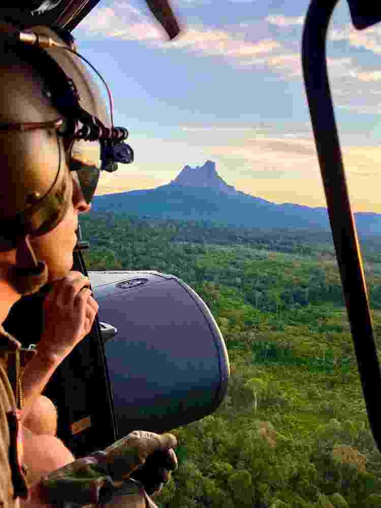 Deslocamento de helicóptero até Maturacá - Divulgação - Divulgação