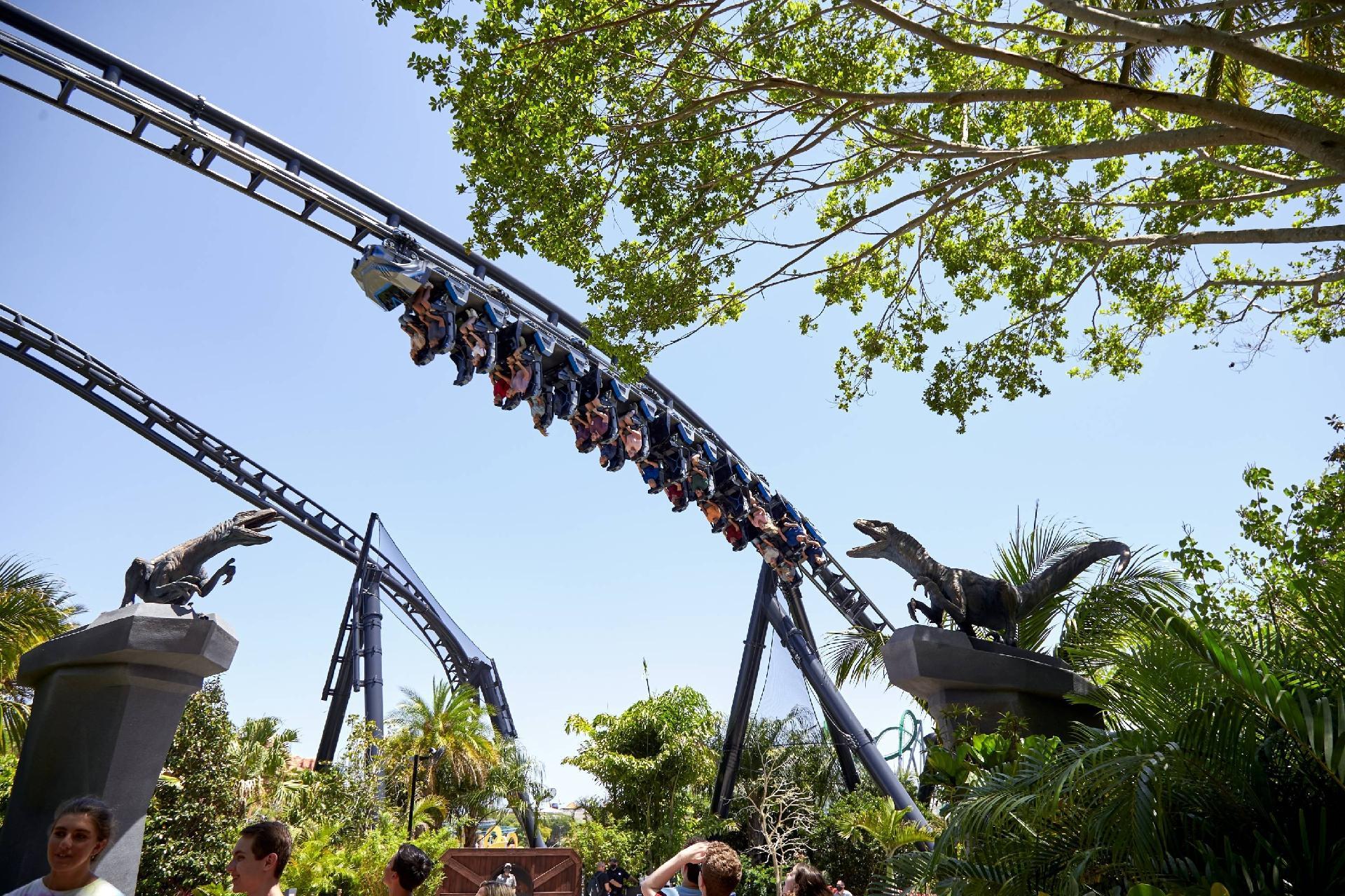 Jurassic World VelociCoaster - Divulgação