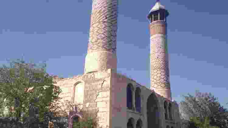 Agdam, uma cidade fantasma em Nagorno-Karabakh  - Arquivo pessoal - Arquivo pessoal