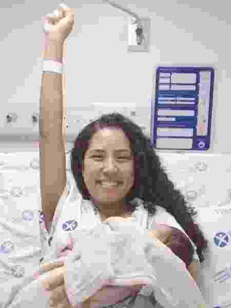 Aline Vieira perdeu bebê no parto - Arquivo pessoal - Arquivo pessoal