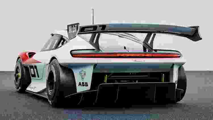 Porsche Mission R - Divulgação/Porsche - Divulgação/Porsche