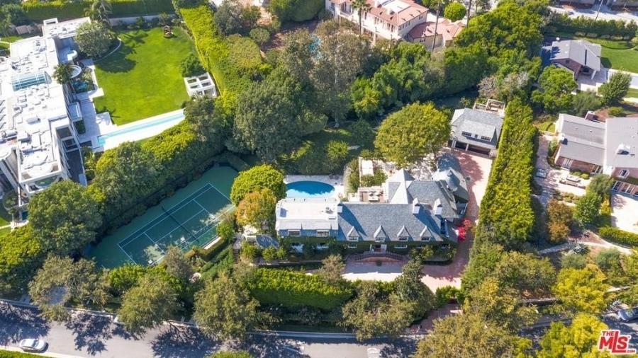 Mansão de Ellen DeGeneres e Portia de Rossi em Beverly Hills - Reprodução/Realtor