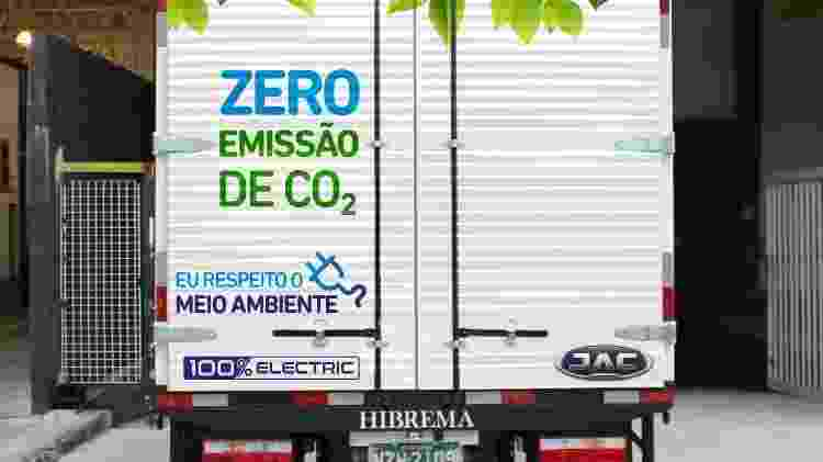 JAC iEV1200t - Divulgação/JAC Motors - Divulgação/JAC Motors