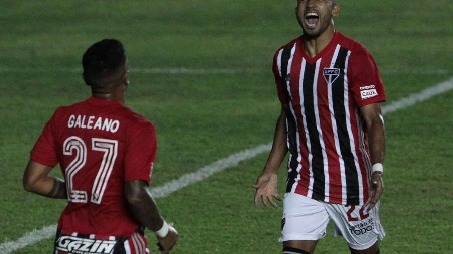 Rojas faz o quarto do São Paulo contra a Inter de Limeira, pelo Paulistão - Divulgação/São Paulo