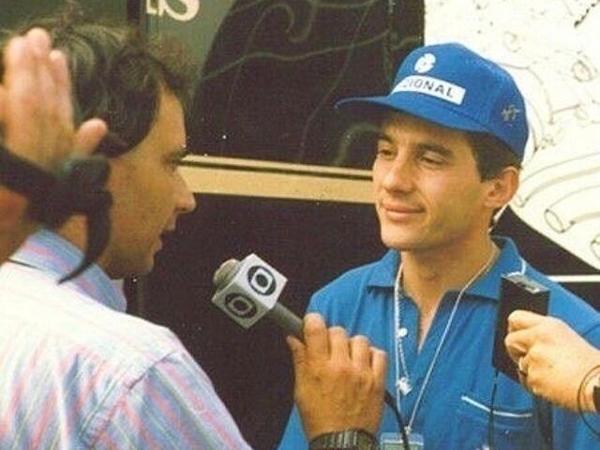 Arquivo pessoal/Ayrton Senna