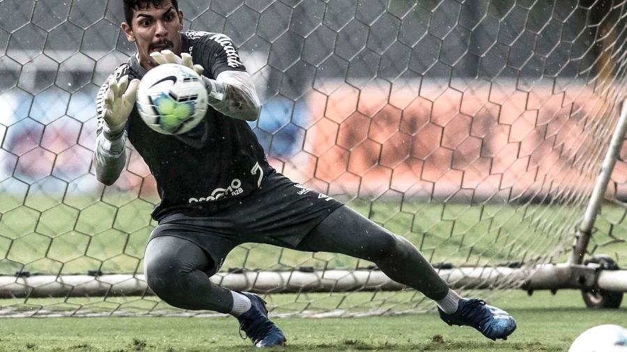 João Paulo no Santos - Ivan Storti/Santos FC