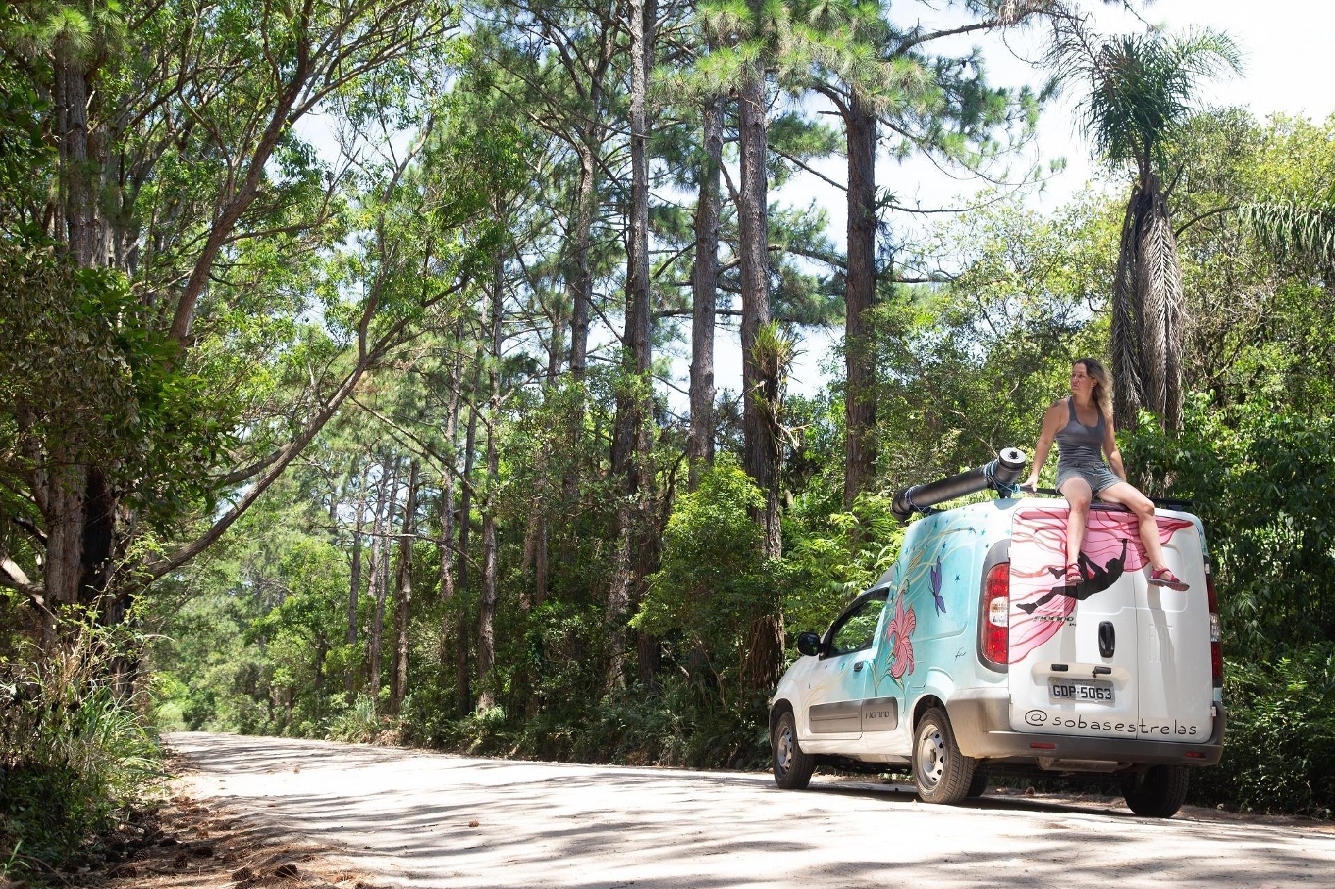 Camila y Safira en la carretera - Archivos personales