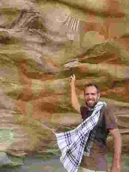 Pinturas rupestres de Laas Geel, na Somalilândia - Arquivo pessoal - Arquivo pessoal