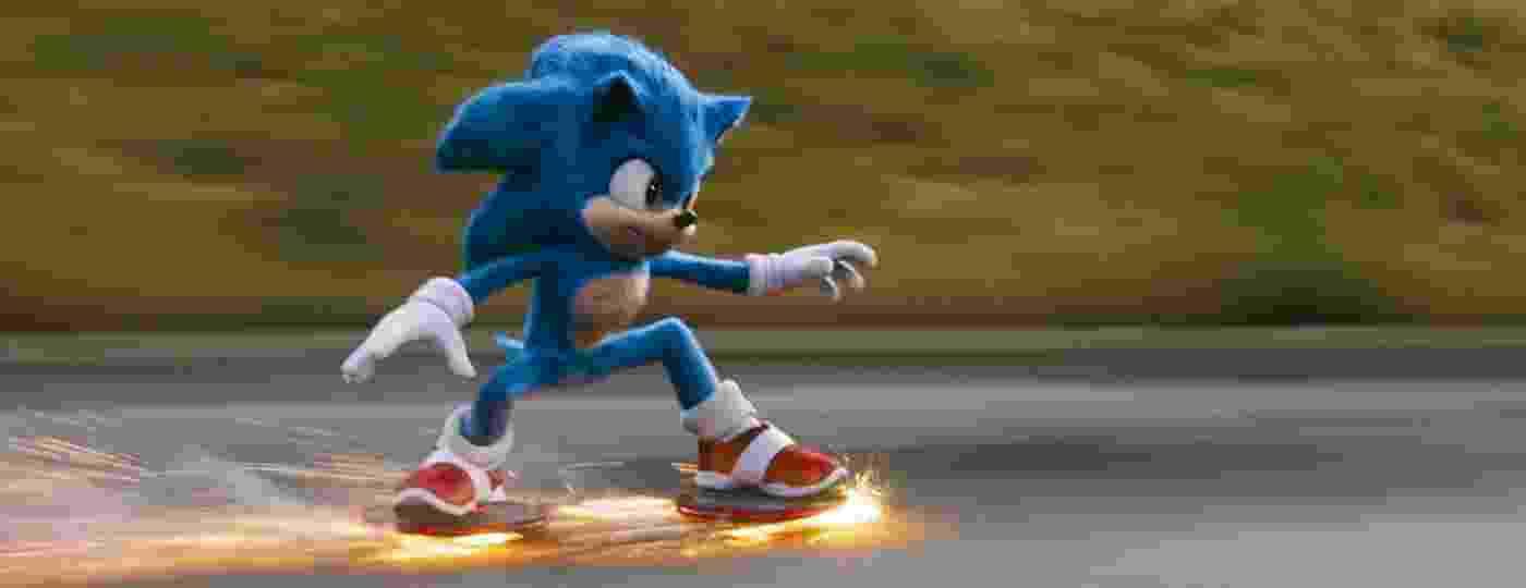 No filme, Sonic é um ouriço alienígena criança que fugiu de seu planeta natal para a Terra porque era caçado devido a seus poderes - Divulgação