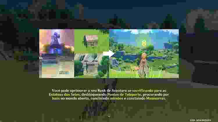 Genshin Impact - Reprodução/Gamehall - Reprodução/Gamehall