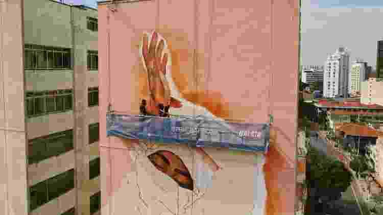 Mural pri barbosa - Agência InHaus/NaLata Festival - Agência InHaus/NaLata Festival