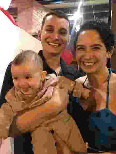 Grávida de gêmeos, Ana Carollina Garcia perdeu um dos bebês com 32 semanas de gestação - Arquivo pessoal - Arquivo pessoal