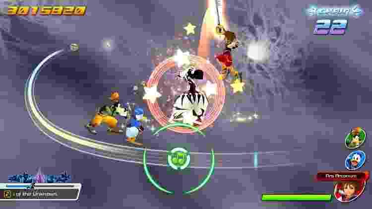 Kingdom Hearts: Melody of Memory - Divulgação/Square Enix - Divulgação/Square Enix