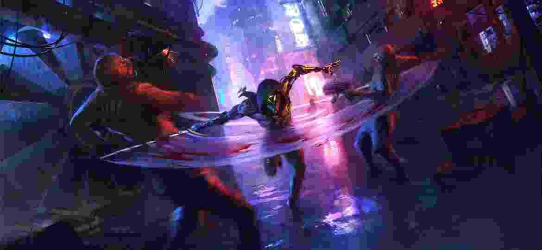 Ghostrunner é gameplay acelerado, que exige reflexos --feito sob medida para os speedrunners - Divulgação