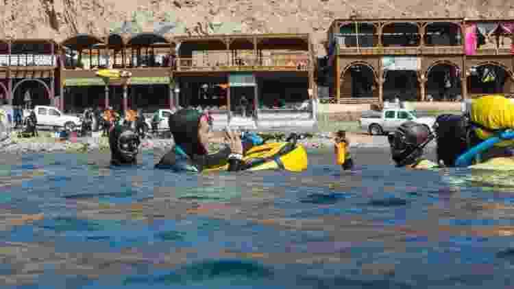 Carlos dá curso de mergulho em Dahab - Arquivo pessoal - Arquivo pessoal