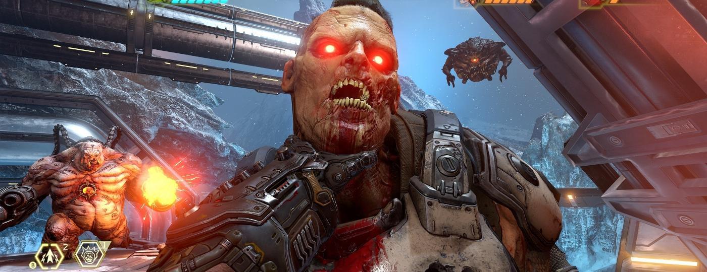 Doom Eternal é uma injeção de adrenalina em forma de game: combate intenso, frenético, acelerado (e bastante sangrento) - Divulgação