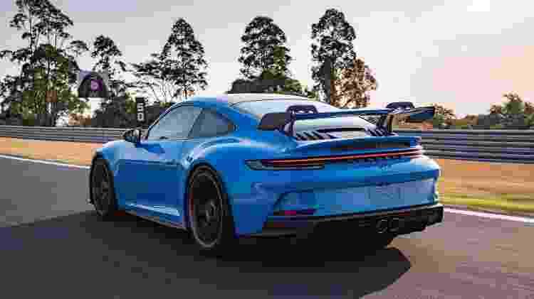 Porsche 911 GT3 traseira - Divulgação/Porsche - Divulgação/Porsche