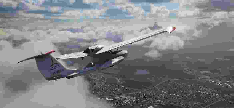 Microsoft Flight Simulator será lançado em 10 de agosto para PCs, com acesso gratuito para assinantes Game Pass - Divulgação/Microsoft