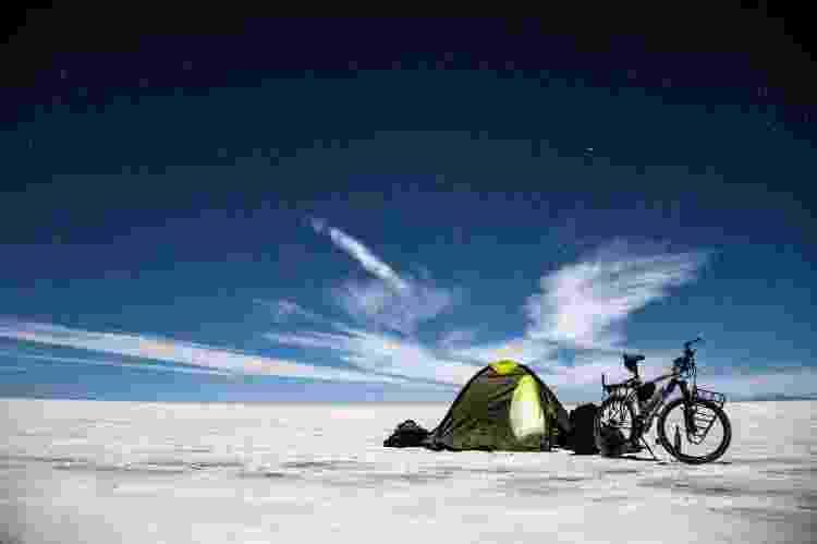 Camping no Salar de Uyuni, Bolívia - Arquivo pessoal - Arquivo pessoal