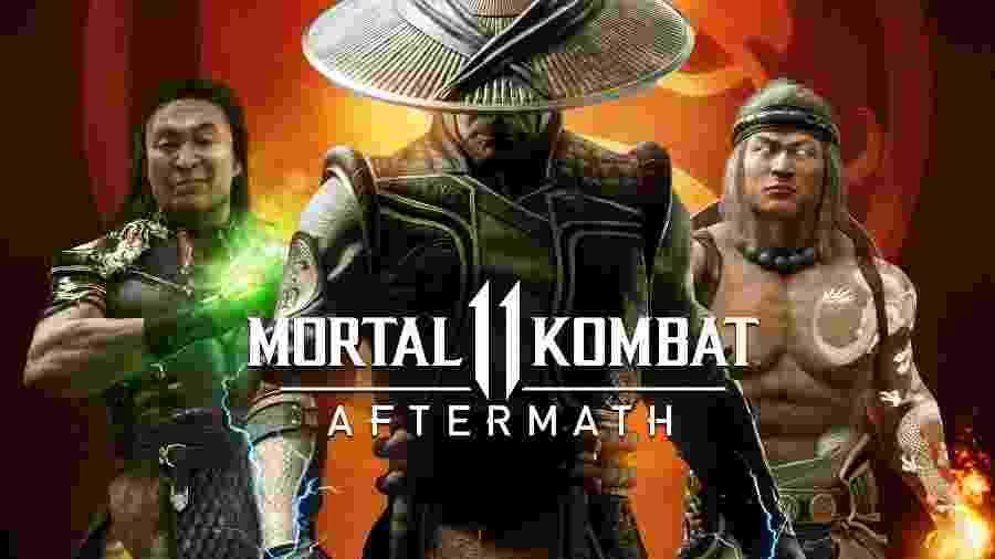 Mortal Kombat Aftermath é um DLC focado em personagens e na história - Divulgação