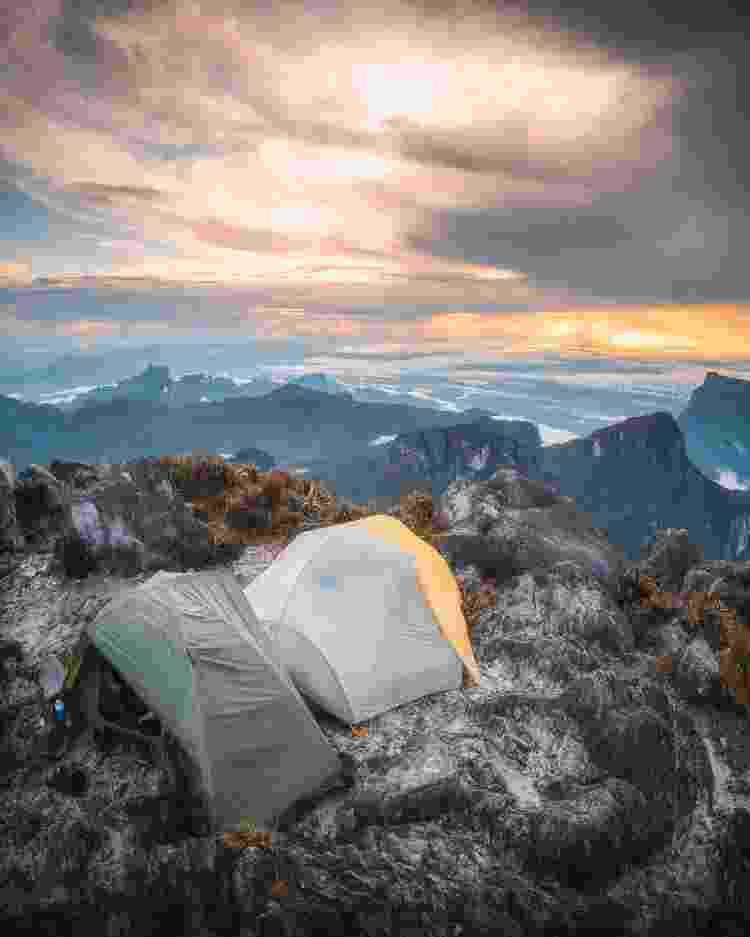 Acampamento no Pico da Neblina - Divulgação - Divulgação