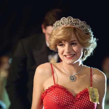 Emma Corrin como princesa Diana - Divulgação