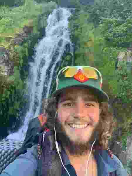 Cachoeira na Pacific Crest Trail - Arquivo pessoal - Arquivo pessoal