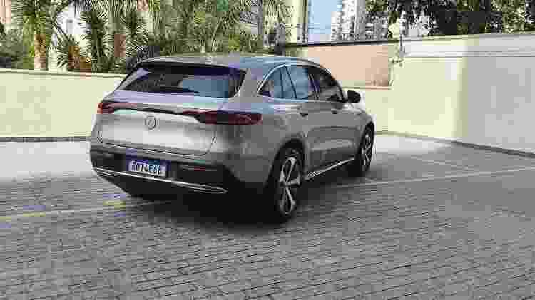 Mercedes-Benz EQC 400 - Divulgação - Divulgação