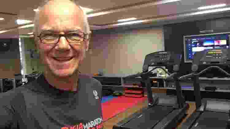 Heinrich Epp Neto vive há 50 anos com diabetes e virou corredor - Arquivo pessoal - Arquivo pessoal