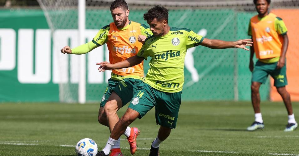 Já pensando no próximo jogo, o Palmeiras treinou nesta manhã, na Academia de Futebol. O Verdão encara o CRB-AL nesta quinta-feira (03), às 21h30, em Maceió.