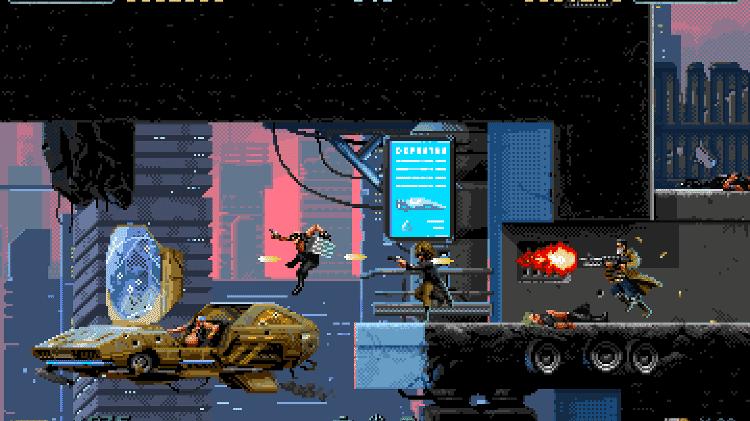 Huntdown gameplay - Divulgação - Divulgação