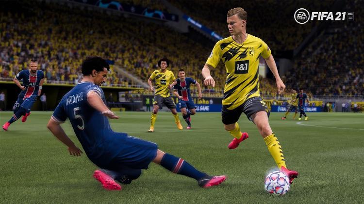 FIFA 21 - Divulgação / EA - Divulgação / EA