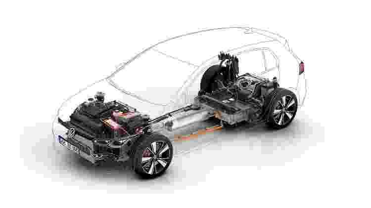 Volkswagen Golf GTE 2021 - Divulgação - Divulgação