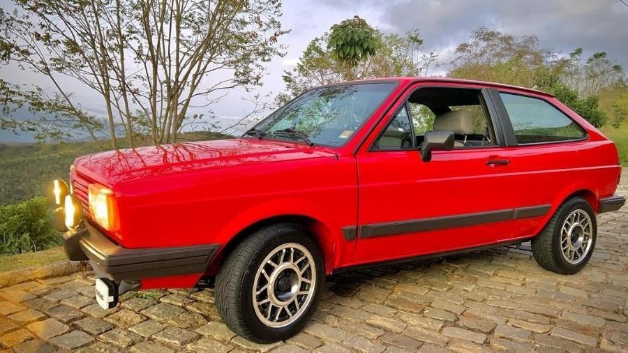 VW Gol GT de William Bonner - Reprodução/Instagram