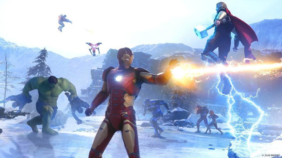"""Marvel""""s Avengers - Divulgação/Square Enix"""