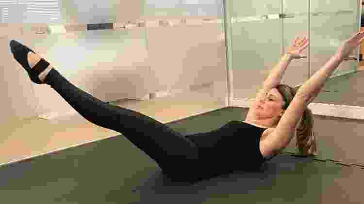 Exercícios de MAT pilates - Divulgação/Viva em Equilíbrio - Divulgação/Viva em Equilíbrio