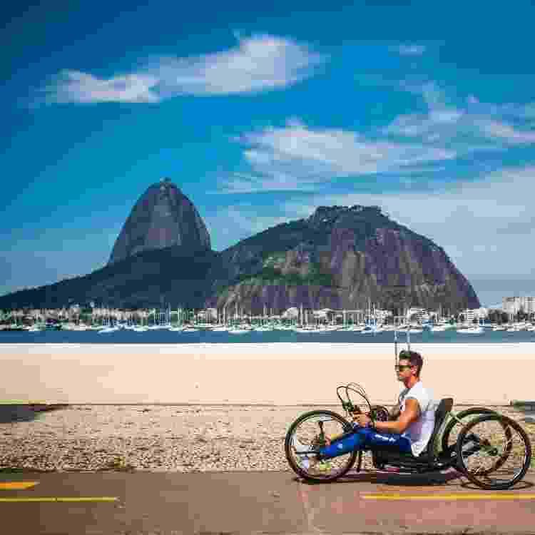 Handbike no Rio - Divulgação - Divulgação