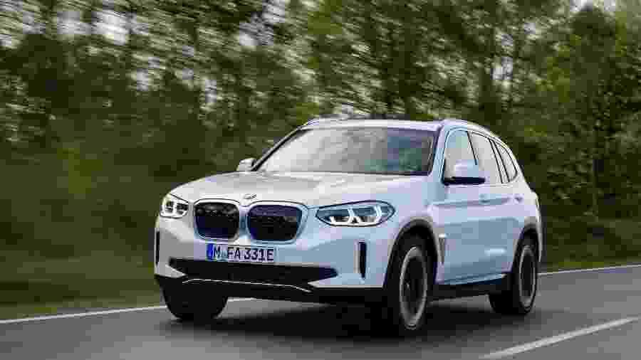 BMW iX3 - Divulgação